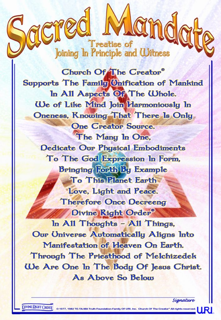 Sacred Mandate