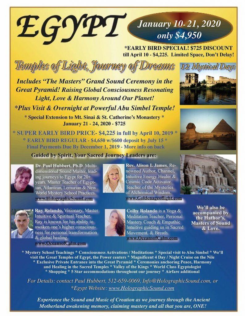 Egypt Tour 2020